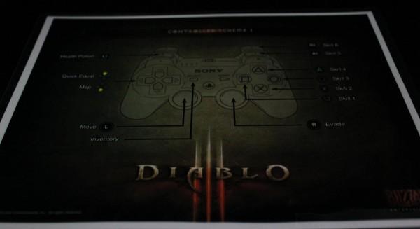PS3 Diablo III Control Scheme