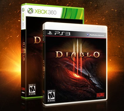 Diablo III on PS3 and Xbox 360