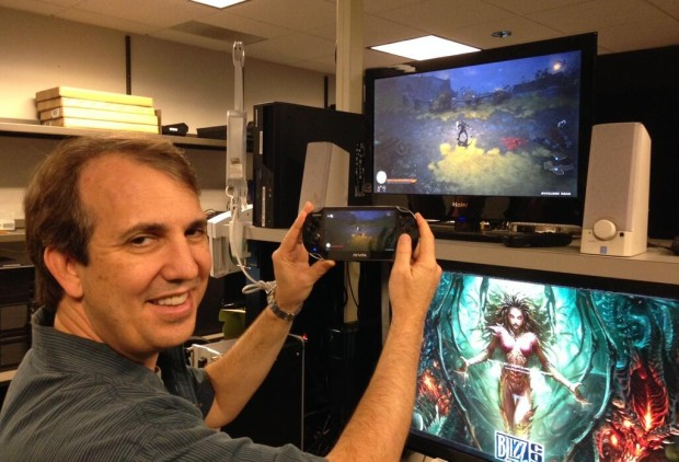 Diablo III PS4 with Remote Play on Vita