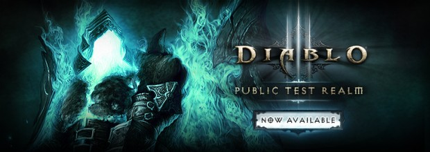 Diablo III Public Test Realm is Available