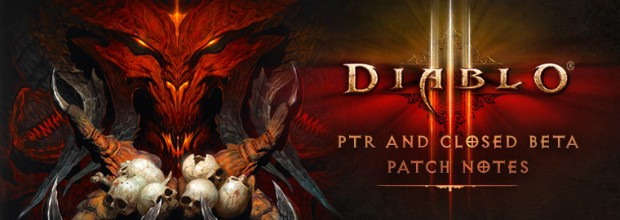 Diablo III Closed Beta Patch Notes