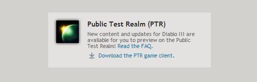 how to download ptr diablo
