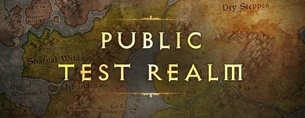 Diablo III Public Test Realm