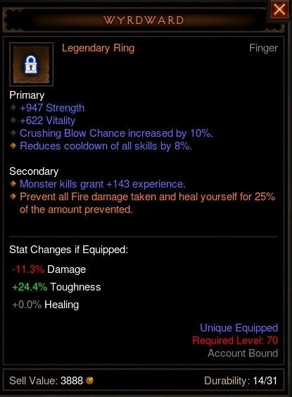 Reaper of Souls Beta: Wyrdward