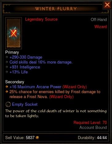 Reaper of Souls Beta: Winter Flurry