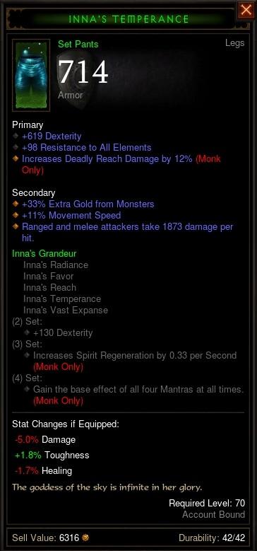 Reaper of Souls Beta: Inna's Temperance