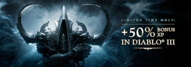 Diablo III Bonus Experience Weekend