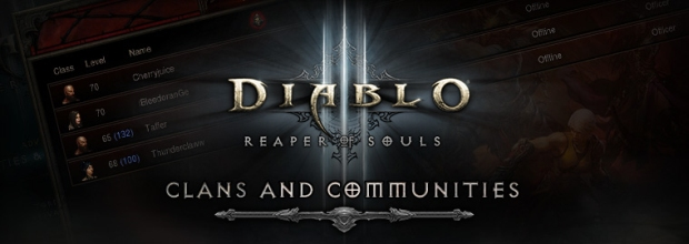 Diablo III Clans and Communities