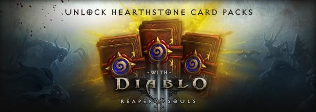 Hearthstone Card Packs in Reaper of Souls