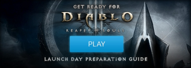 Reaper of Souls Launch Day Preparation