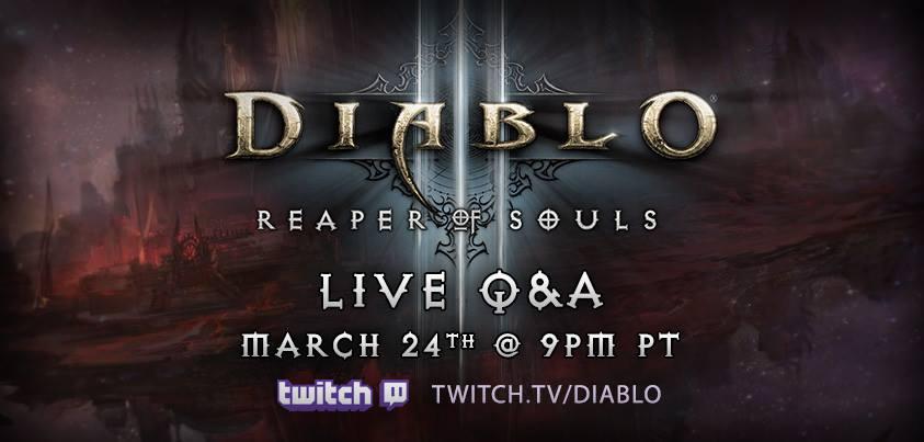 Diablo III Developer Q&A for Release