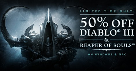 Diablo III and Reaper of Souls Sale