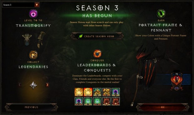 Diablo III Season 3 on the PTR
