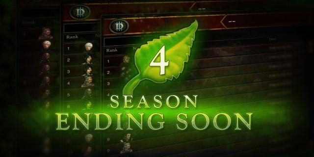Diablo III Season 4 Ending Soon