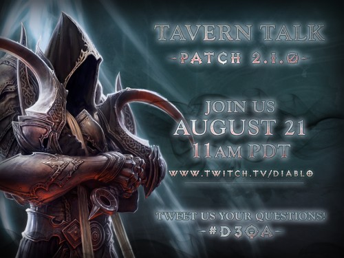 Diablo III Developer Interview - Tavern Talk