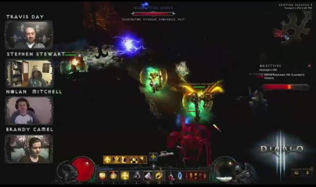 Travis Day on Diablo III Theorycraft Thursday Livestream #1