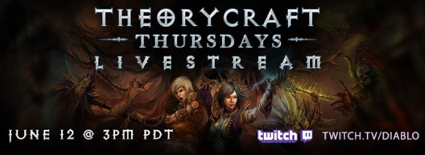 Diablo III Theorycraft Thursday Livestream
