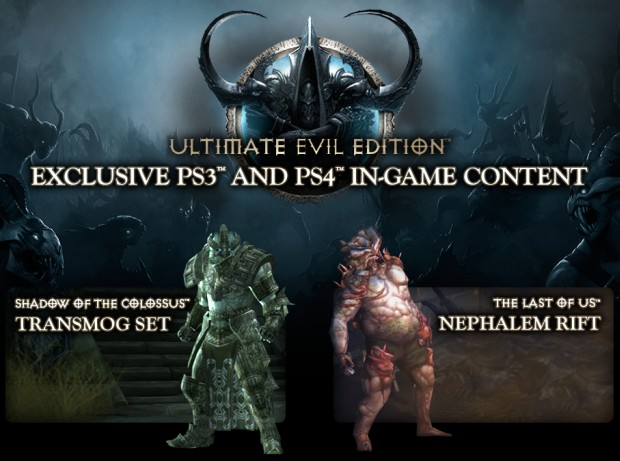 Diablo III: Ultimate Evil Edition - PlayStation Bonuses