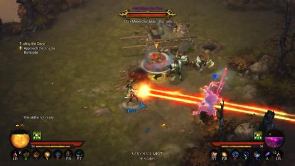 Diablo III Xbox 360 Multiplayer Demo